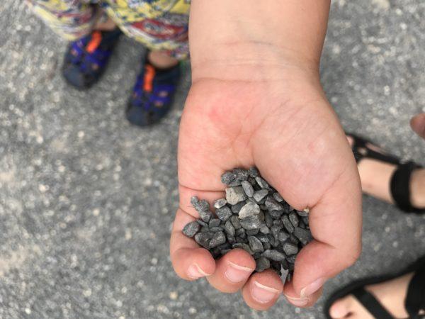 上尾丸山公園の地面砂の写真