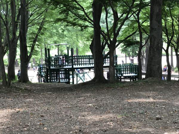 上尾丸山公園遊具の写真