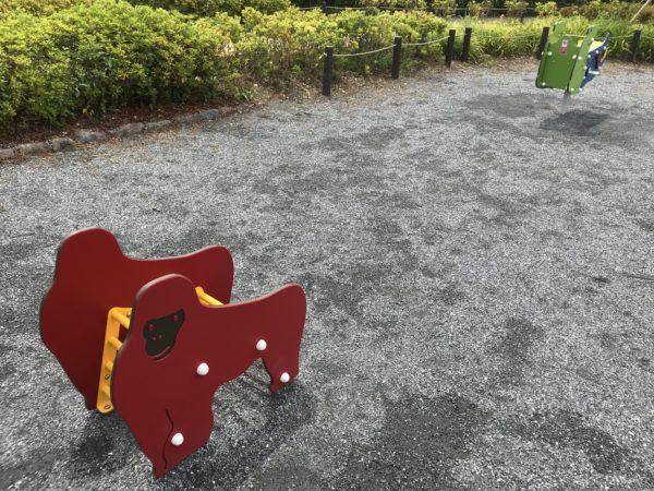 小仙波八反田公園遊具の写真