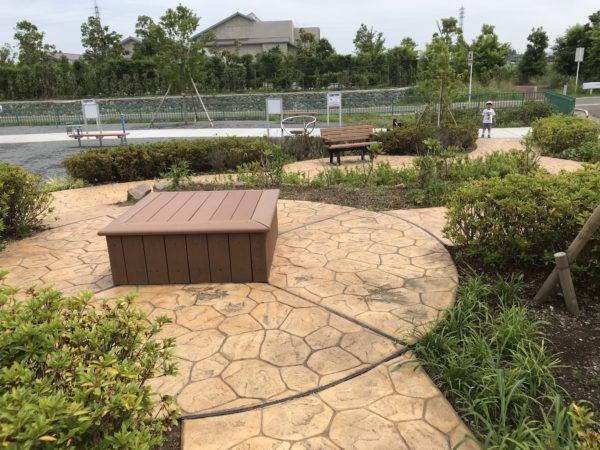 小仙波八反田公園遊歩道の写真