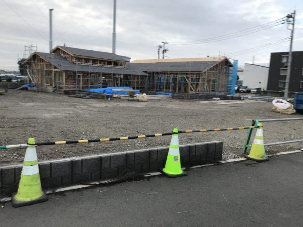 西大宮マンゴツリーカフェの建設写真