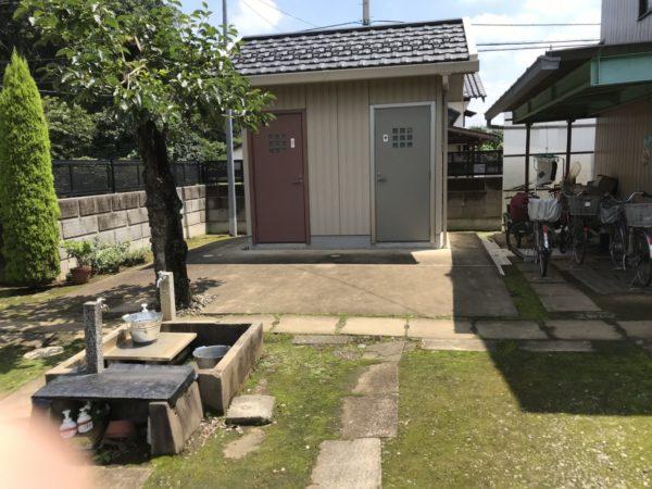 野原観光農園のトイレ