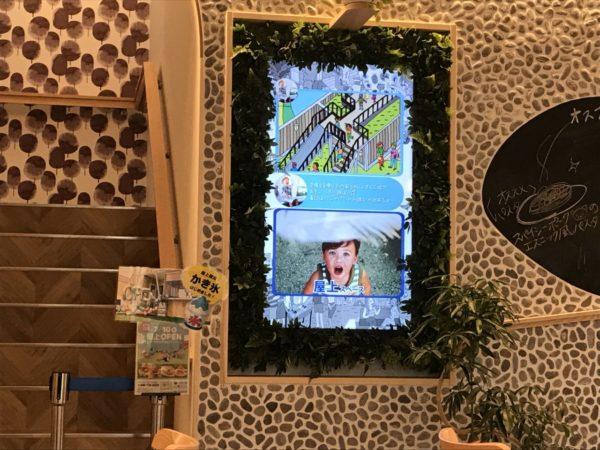コンフェッテイ屋上テラス入口の写真