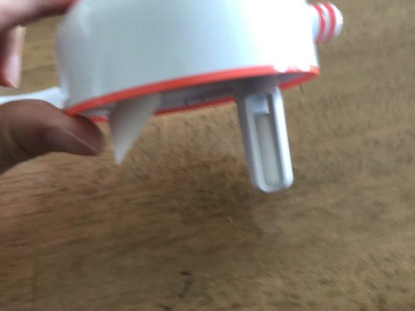 メルシーポットのボトル蓋の写真