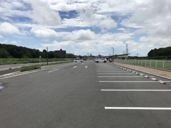 戸崎公園の駐車場の写真