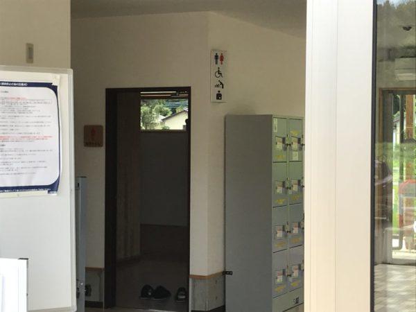 トイレの入口の写真