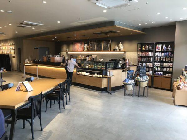 スターバックスTSUTAYA南古谷店のカウンター写真