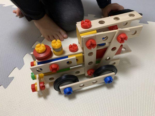 アイヒホーントラックセットで作った機関車